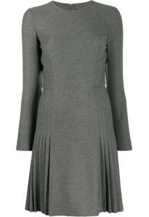 Ermanno Scervino Vestido Com Stretch - Cinza