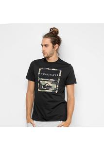 Camiseta Quiksilver Hawaii Camo Masculina - Masculino