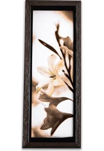 Quadro Flores 2 39X15Cm