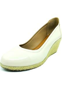Sapato Anabela Salto Corda Dani K - Kanui