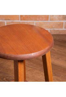 Cadeira Dobrável De Madeira Bistrô Natural Madesil