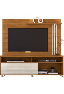 Rack Bancada Com Painel Para Tv Madetec Frizz, 2 Portas