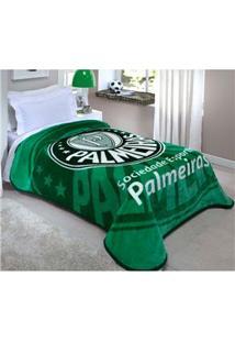 Cobertor Corttex De Solteiro Palmeiras Com 150 X 200 Cm – Estampado