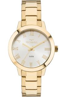 8cf48dead45 ... Relógio Feminino Technos Analógico 2035Mku 4K Ouro