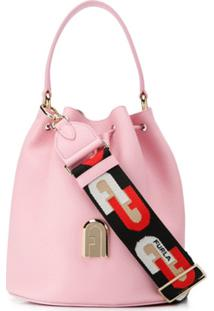 Furla Bolsa Bucket Sleek - Rosa