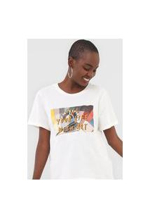 Camiseta Cantão Fill Your Life Off-White
