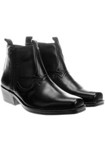 Bota Ferracini New Country - Masculino-Preto