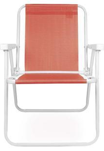 Cadeira Alta De Praia Coral Mor 002286