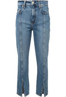 Nobody Denim Calça Jeans Com Costura Confortável - Azul