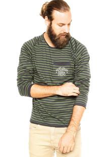 Blusa Colcci Listras Verde