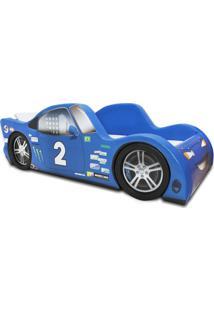 Cama Cama Carro Z9 Azul - Azul - Dafiti