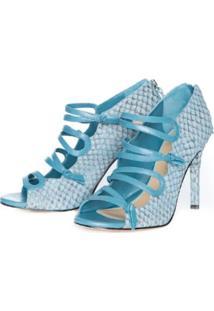 Sandália Bléque Isabela Azul Jeans