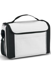 Bolsa Térmica Pequena Spazio Topget Branco E Preto
