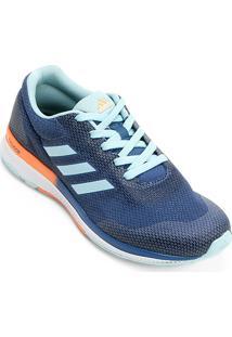 a7247e75fd ... Tênis Adidas Mana Bounce 2 Feminino - Feminino-Azul Claro+Laranja