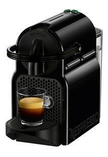 Cafeteira Nespresso Inissia Preparo De Espresso E Longo, 19 Bar De Pressão – Preta