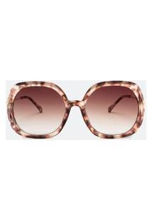 Óculos De Sol Feminino Modelo Quadrado | Accessories | Marrom | U