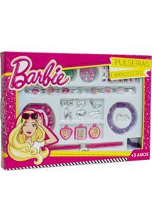 Braceletes Glamourosos - Barbie - Fun - Feminino-Incolor