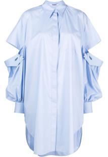 Vivetta Camisa Com Aplicações - Azul