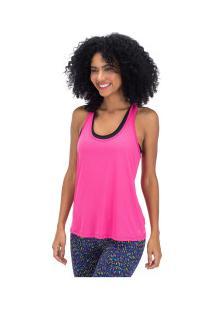 Camiseta Regata Oxer Jogging New Ii - Feminina - Rosa Escuro