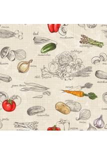 Papel De Parede Adesivo Vegetables (2,50M X 0,58M)