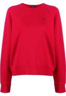 Polo Ralph Lauren Suéter Clássico - Vermelho