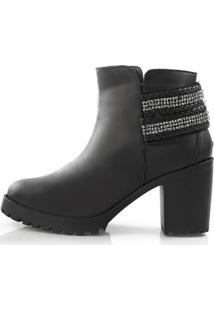 Bota Vegano Shoes Acácia Preto