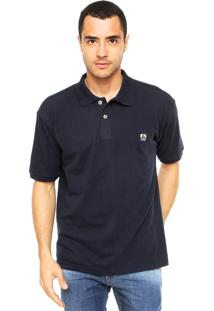 Camisa Polo Mr. Kitsch Vauvert Azul-Marinho