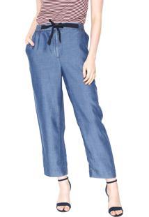 Calça Azul Lacoste feminina   Shoelover 1c839aaaf9