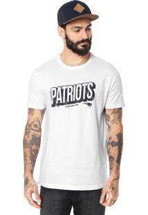 Camiseta New Era New England Patriots Branca