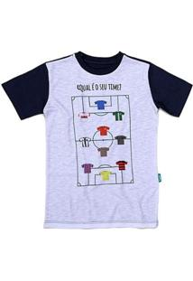 Camiseta Jokenpô Infantil Time - Masculino