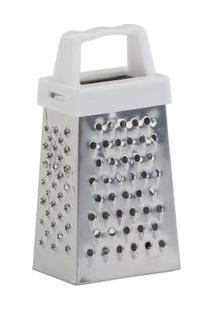 Mini Ralador Inox Prateado - Quadrifoglio. - Un