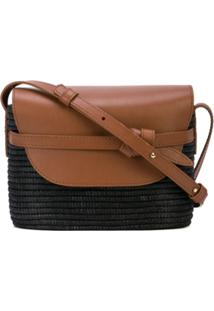 Cesta Collective Contrast Crossbody Bag - Marrom
