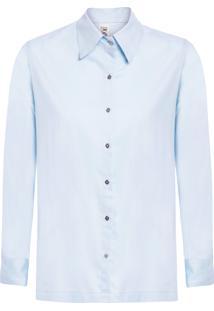 Camisa Feminina Sky - Azul