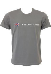 Camisa England Leeds Cinza