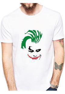 Camiseta Coolest Coringa Masculina - Masculino-Branco