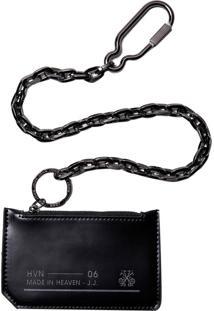 Carteira Chain (Preto, Un)
