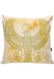 Capa De Almofada Egypt- Bege & Amarela- 42X42Cm-Stm Home