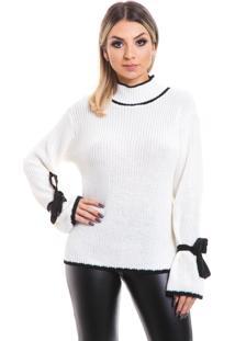 Pullover Beautifull Hit Chanel Branco
