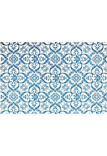 Jogo Americano Textilene 45X30Cm Azulejo Azul