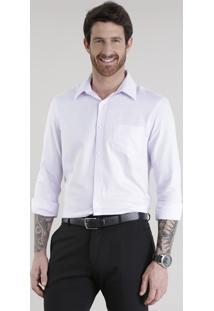 Camisa Comfort Lilás