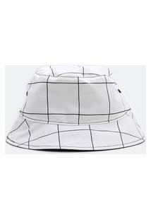 Chapéu Bucket Estampado | Accessories | Branco | U