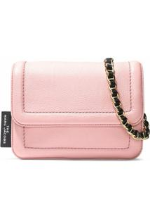 Marc Jacobs Bolsa Tiracolo The Cushion - Rosa