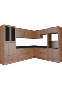 Cozinha Completa 13 Peças 19 Portas Calábria Multimóveis Nogueira
