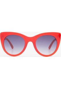 Óculos De Sol Feminino Gateado