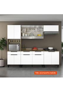Cozinha Compacta Itamaxi 7 Pt 1 Gv Branca E Inox