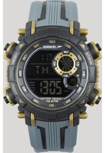 5ff3d0ea829 CEA. Speedo Relógio - Único 80596g0evnp3 Digital Masculino Preto
