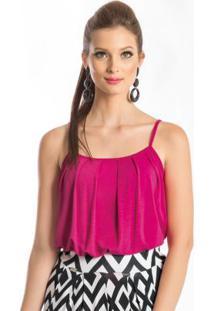 Blusa De Alça Pink