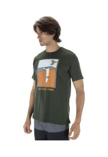 Camiseta Fatal Estampada 23016 - Masculina - Verde Escuro