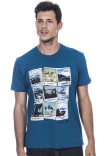 Camiseta Long Island Polaroids Masculina - Masculino