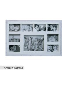Painel Para 8 Fotos - Branco - 43X68Cmkapos